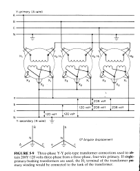 delta transformer wiring diagram components