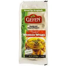 gefen noodles gefen wonton wraps 12 oz seasonskosher online kosher