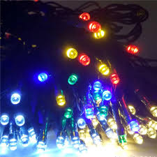 Solar Outdoor Christmas Tree Lights by 2017 Solar 12m 100 Led String Lights Decoration For Christmas Tree