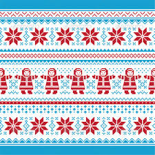 knit christmas christmas vector card traditional seamless knit by redkoala