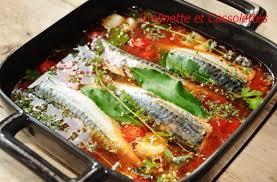 cuisiner le maquereau frais maquereaux à l escabèche grelinette et cassolettes