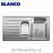 Kitchen Sink Pop Up Waste Stainless Steel Kitchen Sinks Blanco Lantos 6s Stainless Steel