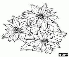 poinsettia coloring pages xmas coloring pages north pole snowy christmas houses to color
