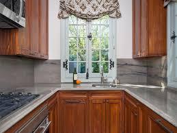 curtains for kitchen window kitchen settee light gray walls subway
