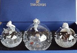swarovski 2016 annual edition christmas ball ornament brand new in