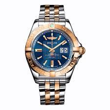 breitling steel bracelet images Breitling galactic 41 c49350l2 c810 366c gold stainless steel jpg
