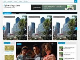 free magazine website templates 56 free css