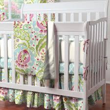 Pink And Green Crib Bedding Mini Crib Bedding Portable Crib Bedding Sets Carousel Designs