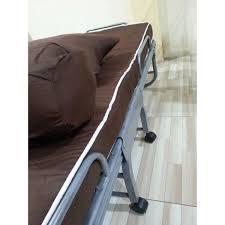 Tempat Tidur Besi Lipat kasur dan ranjang lipat beta
