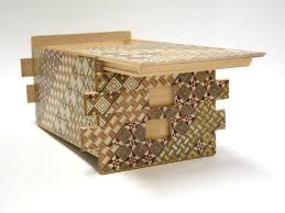 Secret Compartments In Wooden Japanese - japanese puzzle box 54steps with secret compartment koyosegi