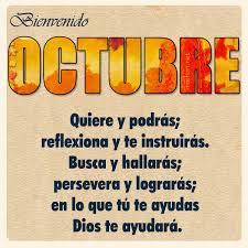 imagenes feliz octubre imágen para compartir bienvenido octubre