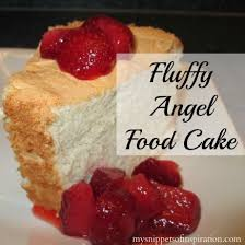 sponge cakes chic angel food cake decorating idea in the white