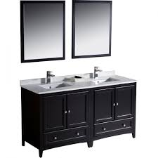 small double vanity double sink vanity with drawers 42 inch white