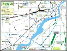 Map Of Ohio River by Toledo Oh Railfan Guide Toledo South