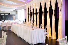 wedding backdrop fairy lights draping and decor event styling co auckland