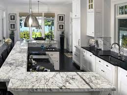 Kitchen Cabinets Gta Amazing Black White Marble Island Countertop And High End Kitchen