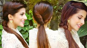 easy indian hairstyles for school indian hairstyle of college girls 3 cute easy ponytail hairstyles