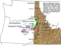 idaho zone map digital geology of idaho accreted terranes