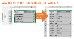 how to copy u0026 paste visible cells only video excel campus