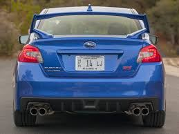 2017 subaru impreza sedan blue 2017 subaru wrx sti base 4 dr sedan at peterborough subaru