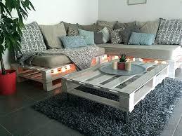 fabrication canapé en palette plan canape bois fabrication salon de jardin en palette pour