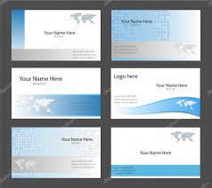 business card templates u2014 stock vector cobalt88 2010019