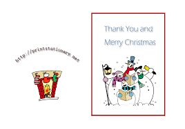 printable holiday card templates free christmas thank you card templates free 5 best professional