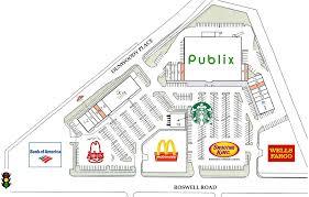 Wells Fargo Floor Plan Sandy Springs Ga Dunwoody Place Retail Space For Lease The