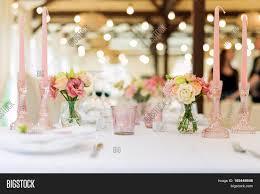 flower table decorations holidays image u0026 photo bigstock