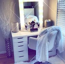 Bedroom Makeup Vanity With Lights Makeup Vanity Light Ideas Marvelous Bedroom Makeup Vanity With