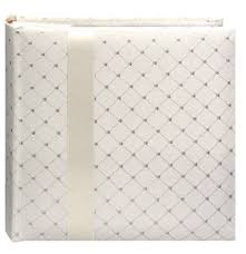 4x6 wedding photo album pioneer da200fdr fabric diamond ribbon wedding photo
