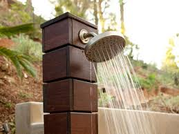 Simple Outdoor Showers - outdoor shower design ideas outdoortheme com