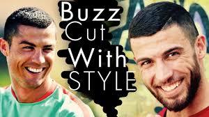 mens hairstyles 2017 cristiano ronaldo buzz cut u0026 signatur razored
