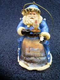 kinkade world santa collection ornament family