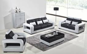 leather couch set casa t322b modern white u0026 black eco leather sofa set