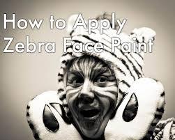 zebra halloween makeup tips and tutorials holidappy