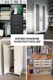 ikea closets 8 diy ikea wardrobe hacks that you ll like shelterness