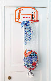 this basketball hoop clothes hamper lets kids pretend they u0027re