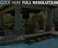 pool and outdoor kitchen designs outdoor backyard designs with pool and outdoor kitchen outdoor