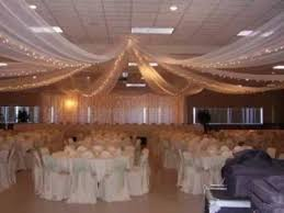 draped ceiling diy wedding ceiling decorating ideas