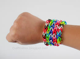 bracelet made with rubber bands images Rubber band bracelets make it without a loom tutorial jpg
