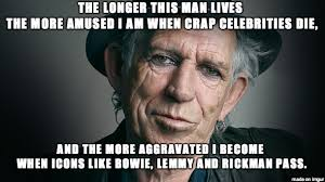 Keith Richards Memes - time is on his side meme on imgur