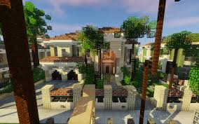 mediterranean mansion mediterranean mansion greenfield minecraft project
