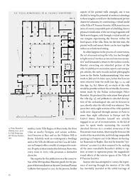 Villa Rustica Floor Plan by Roman Frescoes From Boscoreale The Villa Of Publius Fannius