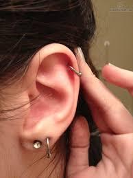 hoop cartilage piercing helix piercing hoop search piercings
