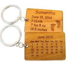 2 peas in a pod keychain jc jewelry design maple wood calendar key chain special date