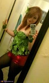 Poison Ivy Womens Halloween Costumes Poison Ivy Costume Idea