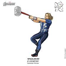 olympics 2012 avengers thor by scargeear on deviantart