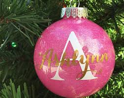 Custom Made Christmas Ball Ornaments by Shatter Proof Etsy