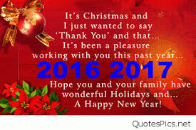 merry happy new year 2016 2017 messages
